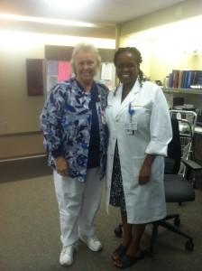 My friend Mary Ellen and Sister Dr Wanjiku Musindi, Columbus, Ohio